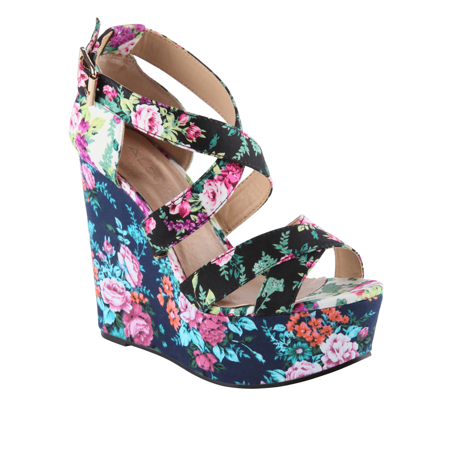 Item Of The Day Aldo Rinks Floral Wedge Mlts Magazine