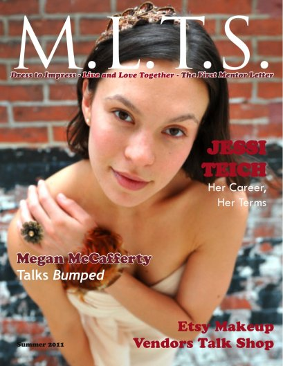 M.L.T.S. Magazine Issue 1 Cover with Jessi Teich