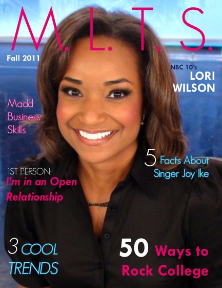 M.L.T.S. Magazine Issue 2 Cover with Lori Wilson